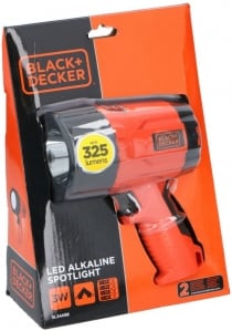Spotlight 3W led 325 Black e Decker