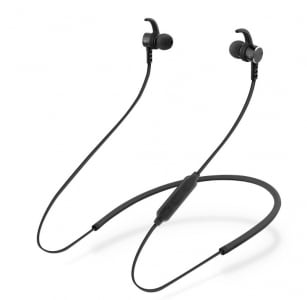 Auricolari arco collo bluetooth nero